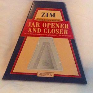 Zim Jar Opener and Closer